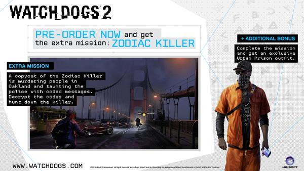 看门狗2(Watch Dogs2)配置要求高吗?预购奖励什么?