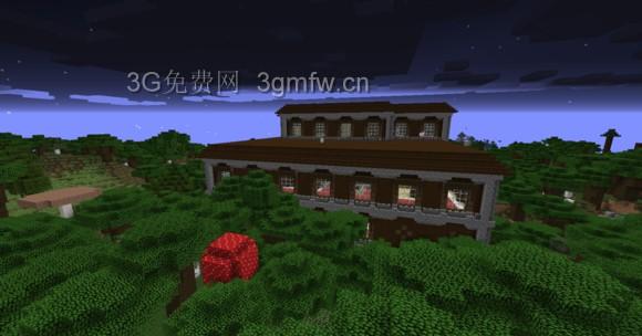 我的世界(minecraft)林地宅邸内部结构图文介绍