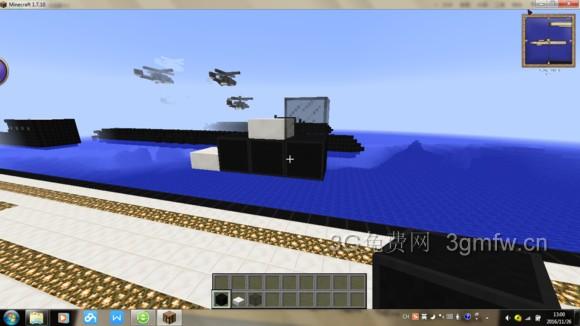 我的世界飞机怎么造? minecraft飞机制作教程