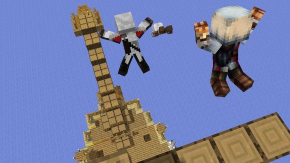 我的世界手机版大型村庄种子介绍_Minecraft手机版大型村庄种子介绍