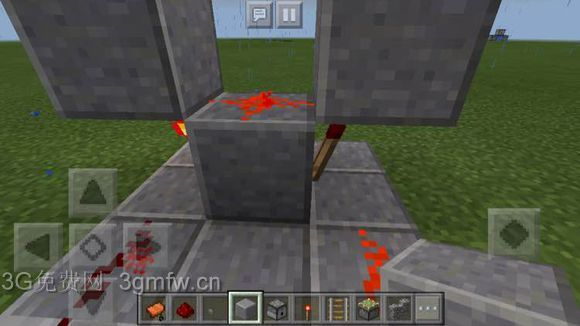 我的世界(Minecraft)红石脉冲、机枪图文教程