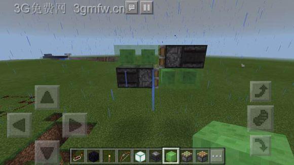我的世界(Minecraft)红石活塞飞机图文教程