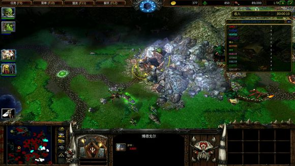 魔兽争霸3《洛丹伦之战》1.51正邪部落攻略