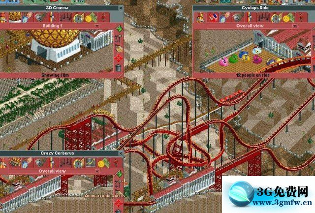 过山车大亨2(RollerCoasterTycoon2)游乐场建造攻略
